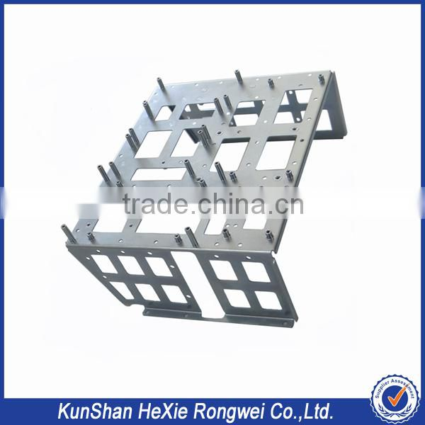 Factory price high precision anodized aluminum sheet metal fabrication service