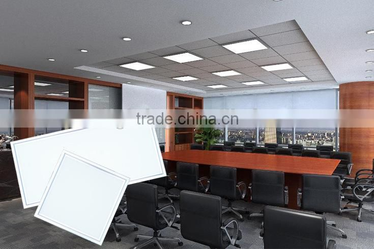 40w CE panel light 100lm/w Square Shape for indoor office, shop and HOME decoration/led panel light 600x600