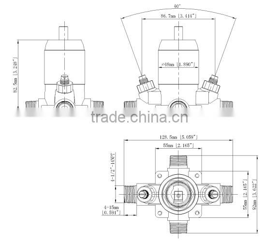 Upc Faucet Plumbing Part Shower Valve Of Others From China