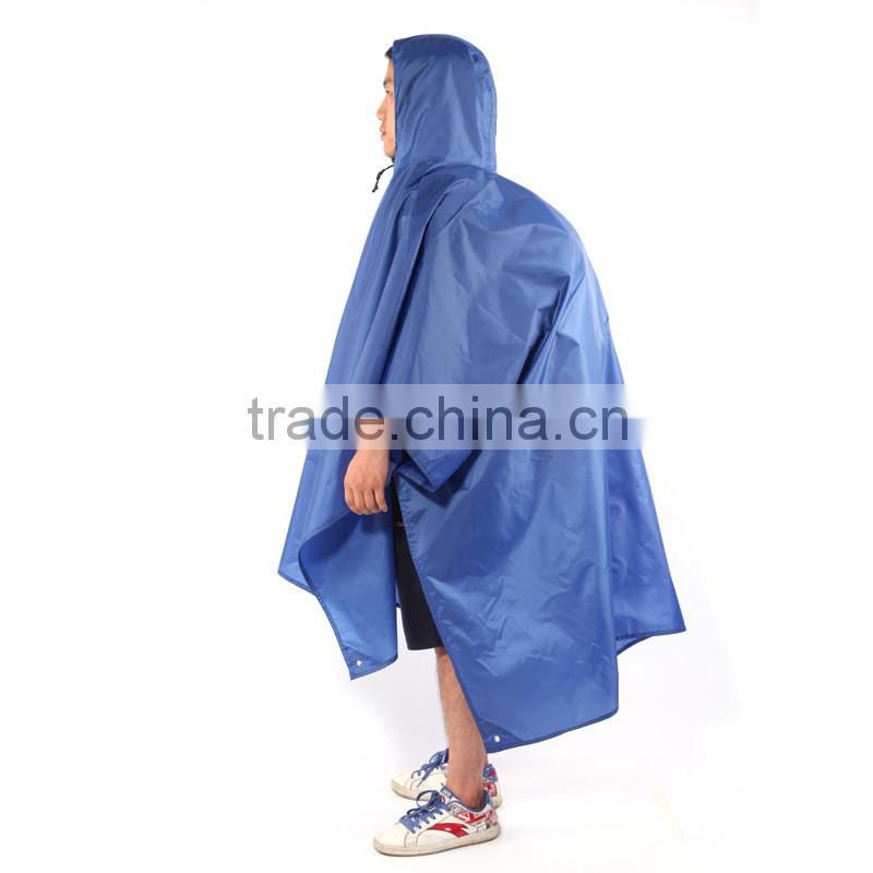 outdoor multifunctional camping raincoat, rain poncho, rainwear