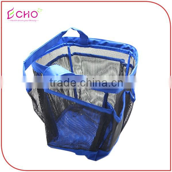 Bath Hanging Oxfford Mesh 8 Pocket Shower Caddy Bag