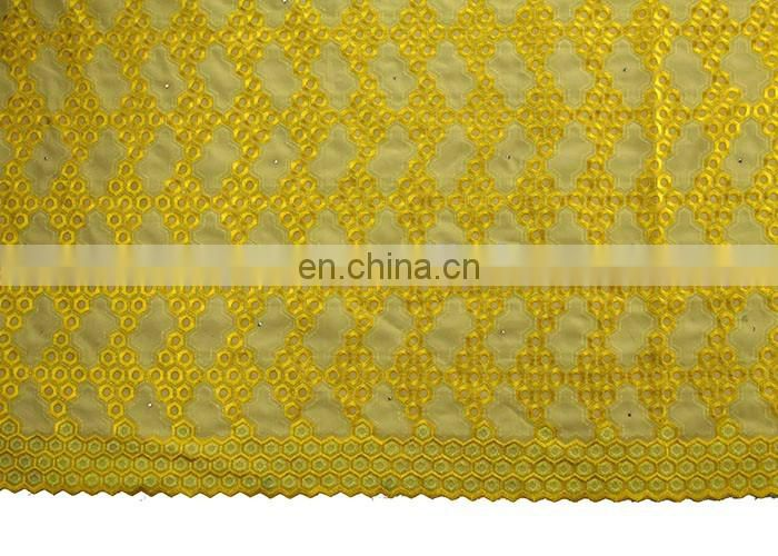 hot selling heavy cord beads african swiss lace fabric
