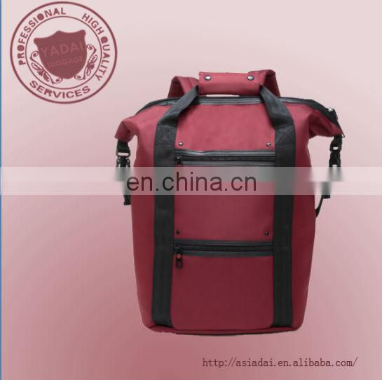 2014 new fashion laptop backpack with handle