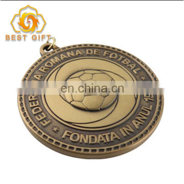 Factory directly sell custom zinc alloy sports award medal