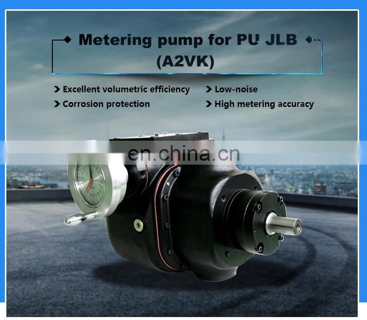Metering A2VK pumps for pu injection machine