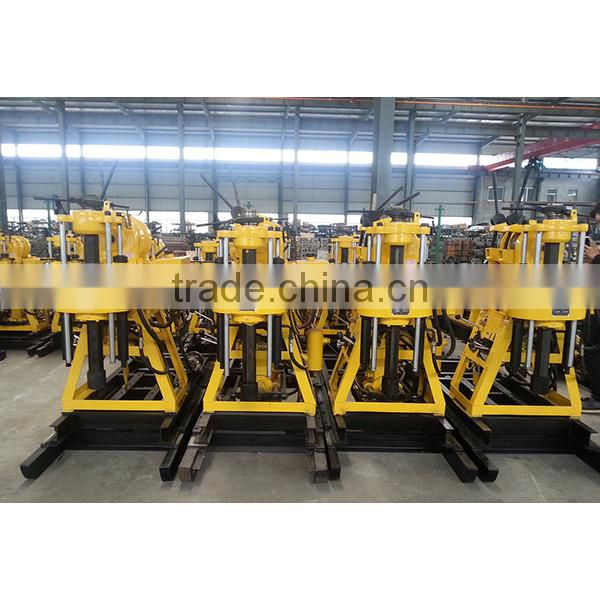 200m portable soil sample drilling rig for sale