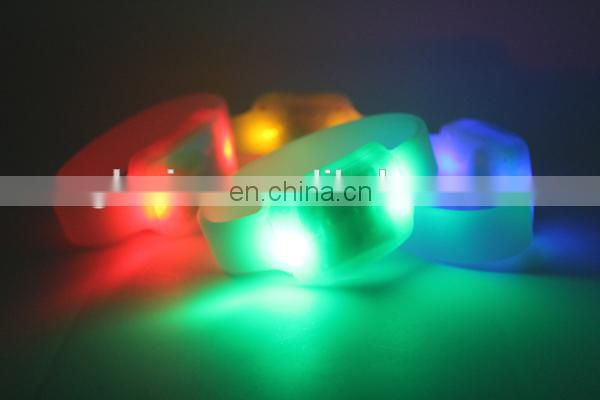 Best quality custom led bracelet cool bracelets for teen Party Show Sound Led Bracelet