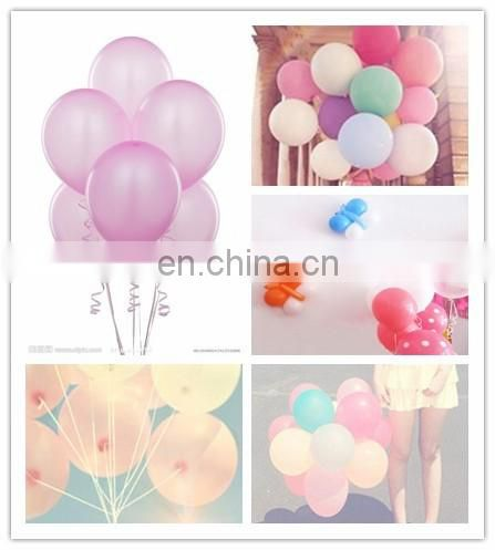 promotional gifts! pure color latex balloon wih custom art as requirements
