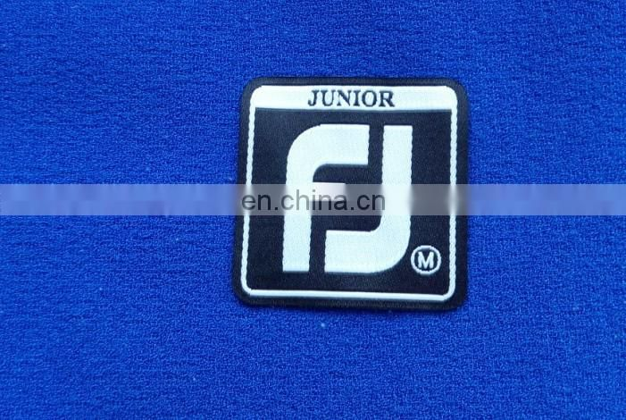 2015 fancy OEM iron backing label