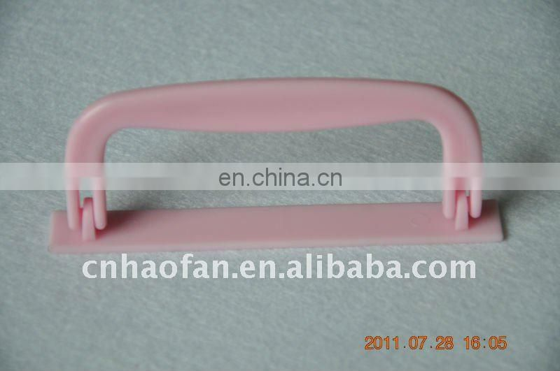 folding corrugated box plastic handle