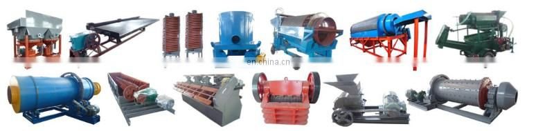 Mini gold wash plant alluvial gold mining complete plant knelson concentrators factory price centrifugal separating machine