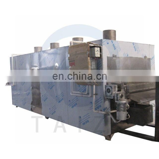Taizy continuous nut roaster /peanut roasting machine/almond dryer