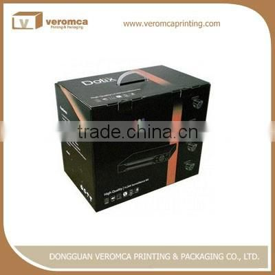 Hot selling paper box with handle