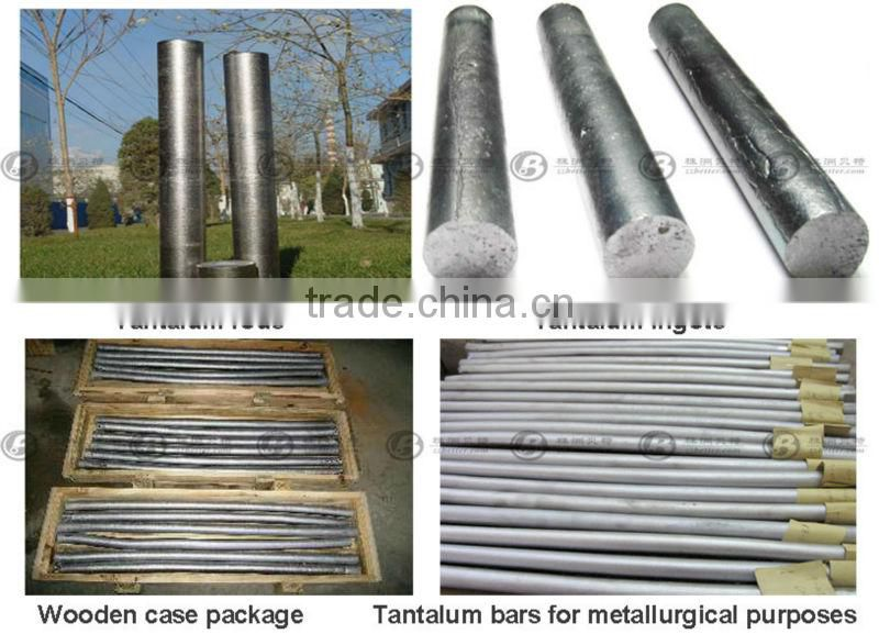 High purity tantalum bar for metallurgy purpose