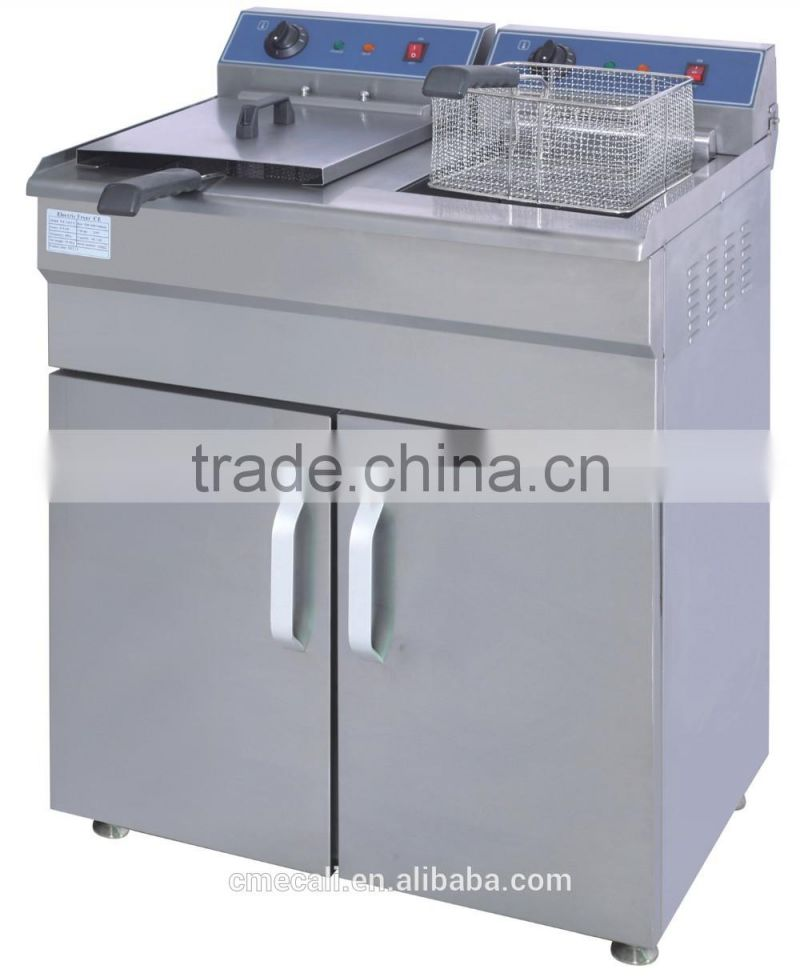 Commercial Electric Chicken Deep Fryer Standing Electric