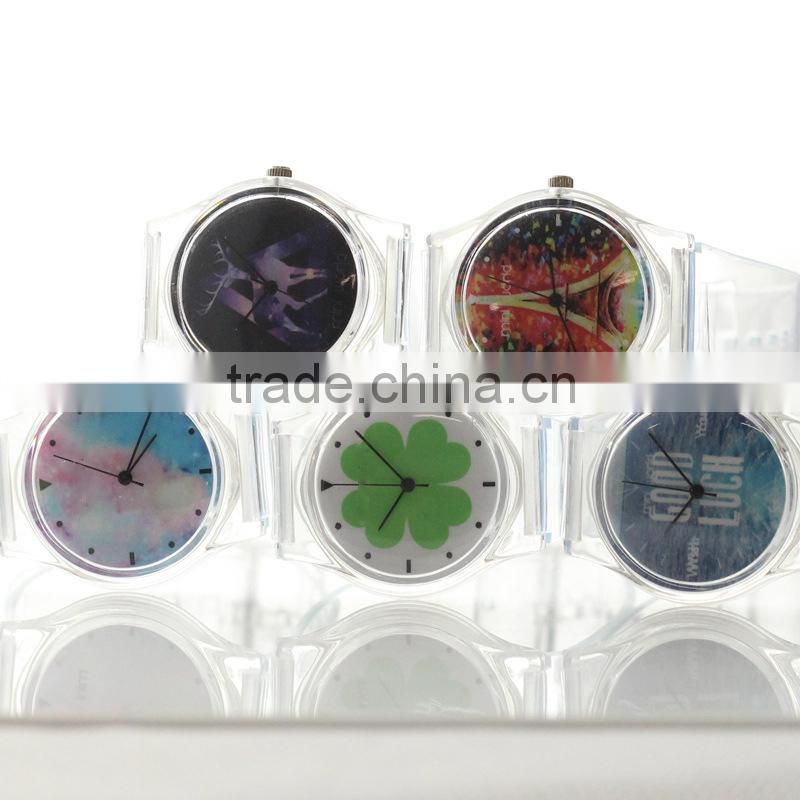 New Arrival Korea Jelly Silicone Watches / Transparent Watches / Amazing Watch for Boys & Girls