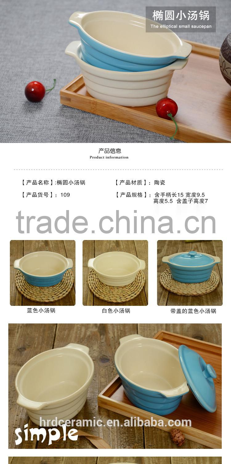 New product Industrial ceramic Soup Pot ceramic cooking pot Milk Pot