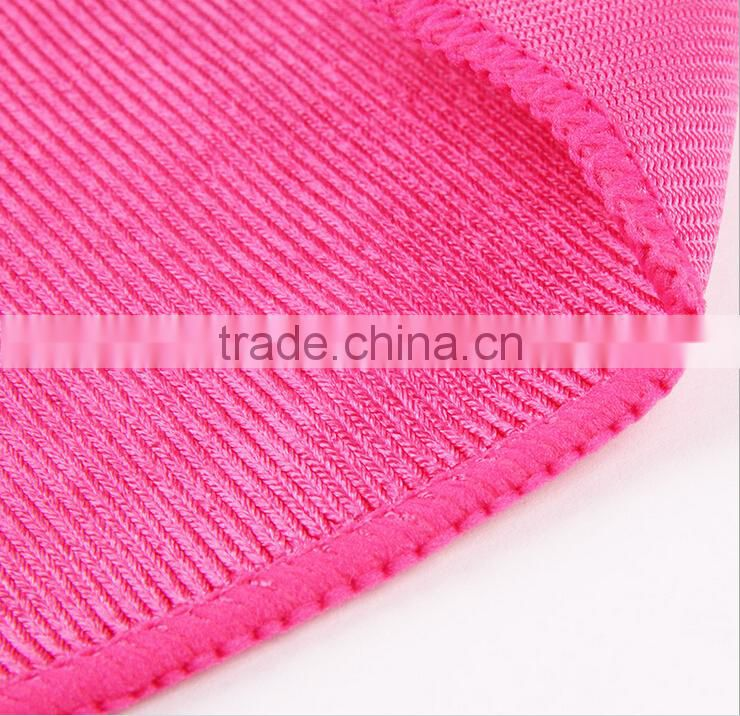 Professional manufacture cheap kitchen application usage microfiber cleaning cloths