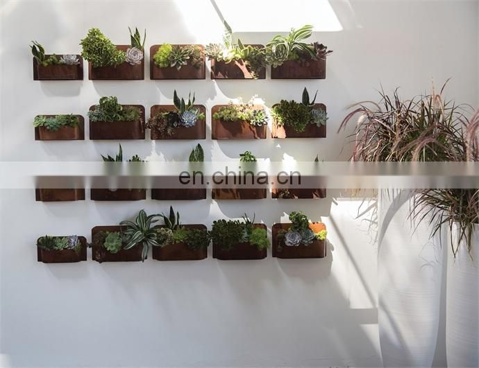 Unique Outdoor Garden Hanging Wall Mounted Succulent Plant Pot