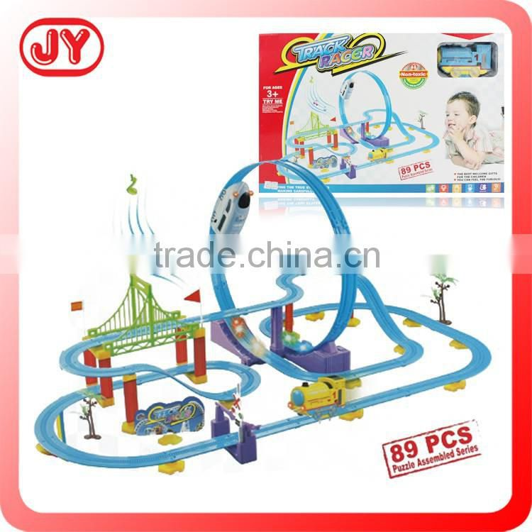 Interesting kids toy cars race track
