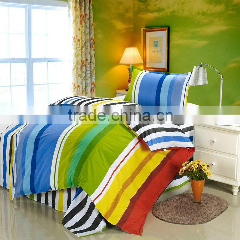 China textile cotton fabric microfiber for hotel bed quilts duvet cover on a round bed wholesale