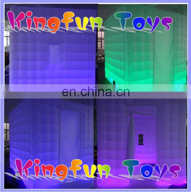 2.5M wedding photo booth,led inflatable photo tent