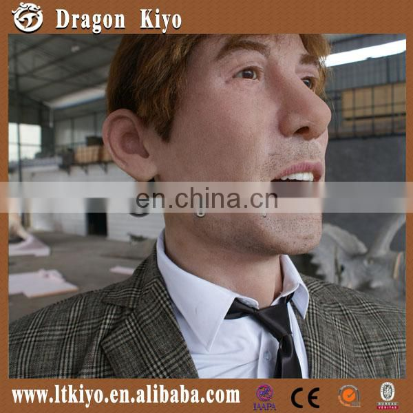 High-tech simulation fiberglass human model