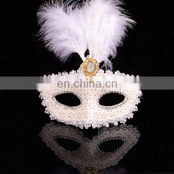 Wholesale 2015 Unique Customized Feather Cheap Party Masks