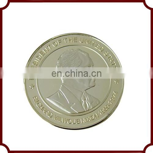 promotional custom metal big coin