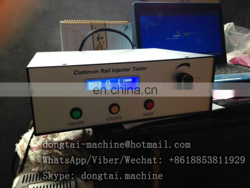 CR1000 or CRI700 ONE Cylinder Common Rail Diesel Fuel Injector tester with piezo function