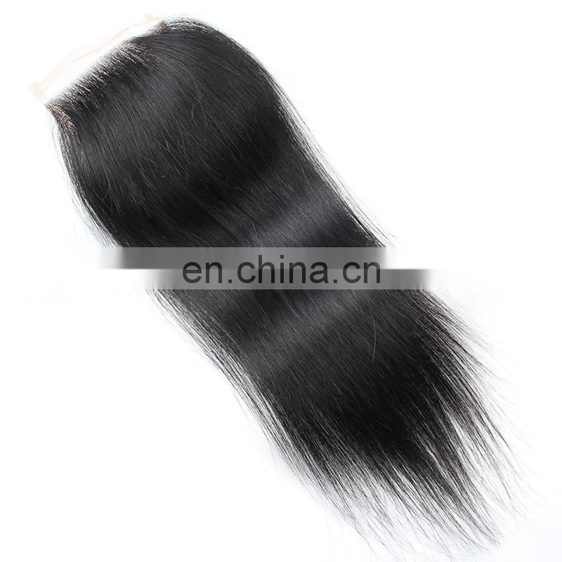 Top grade cheap Malaysian hair lace closure, Virgin cuticle aligned hair lace frontal piece invisible part