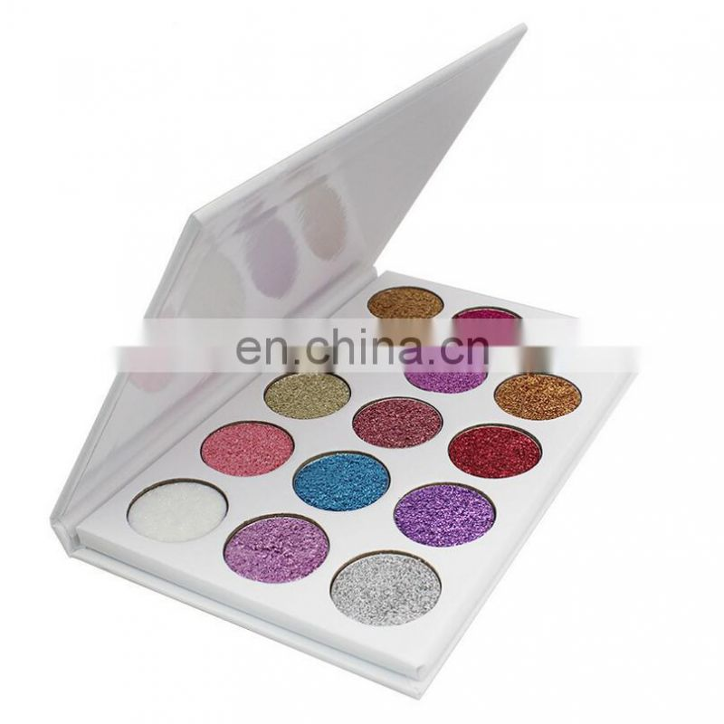 15 Colors Glitter Eyeshadow Palette Without Logo