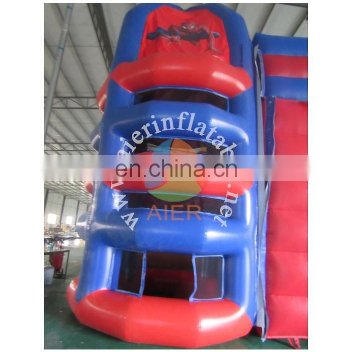 New Deisgn Inflatable spider Climbing slide