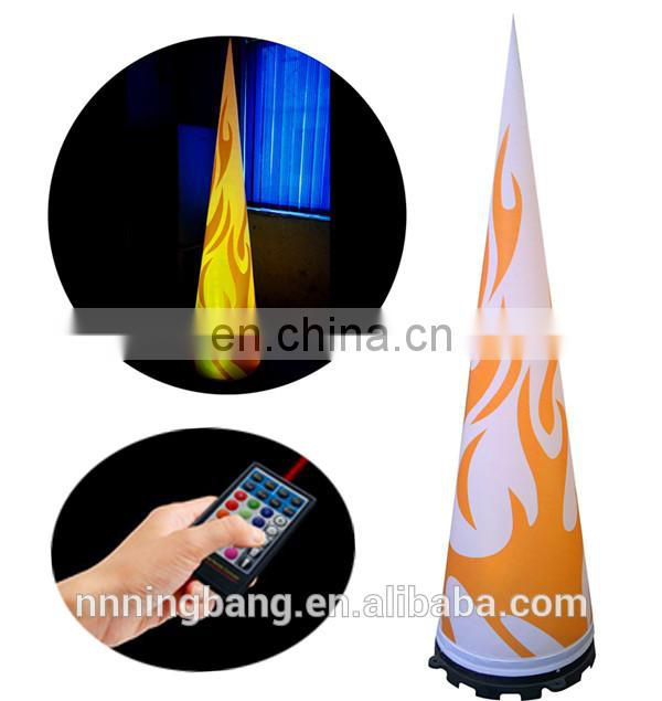 NB customized design inflatable cone for party decoration