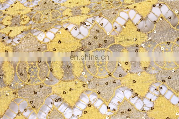 Fashion african soluble african french lace