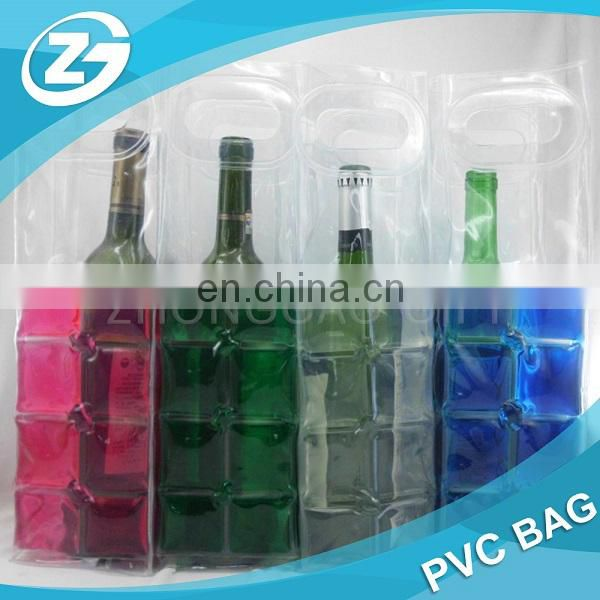 Transparent PVC Wine Chiller Sleeve / Gift Bag