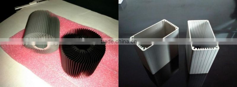 Low price customized extruded aluminum tube (aluminum pipe) with diameter range from 10 to 300mm