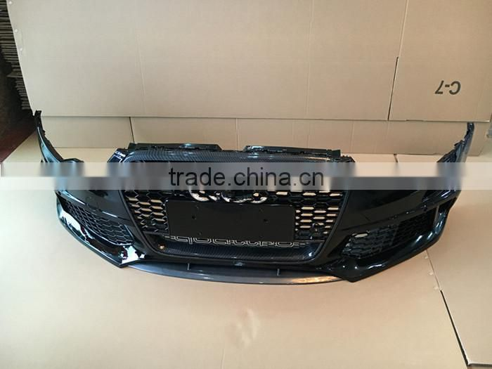 High quality PP material RS6 style bodykits for Audi A6 C7