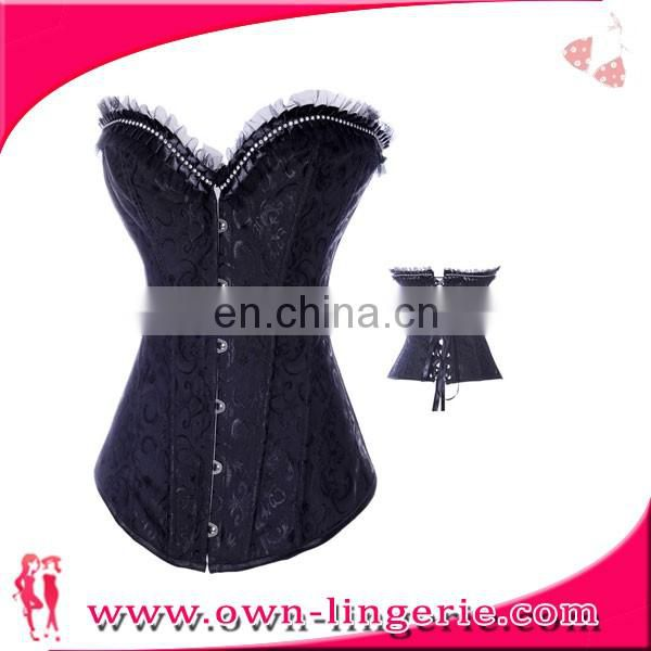 2017 Sample order wholesale lady Waist corset and bustier body shaper slimming vest