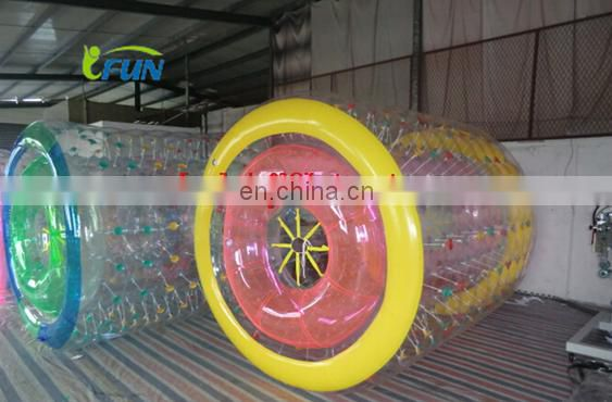 Factory Price Inflatable Water roller Ball /Inflatable Water Roller With high Quality/ commercial used inflatable water toys