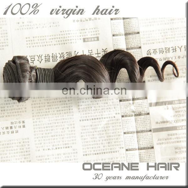 China wholesale top quality unprocessed queen brazilian loose wave hair