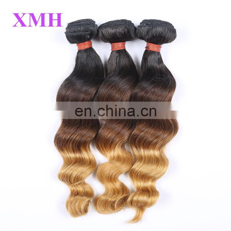 Ombre Hair Extension 3 Tone Wholesale Alibaba Different Types Of Curly Weave Hair