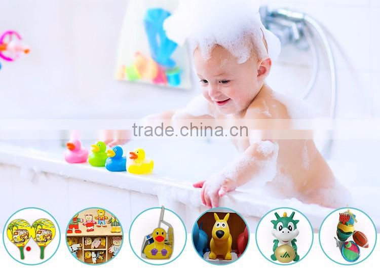 High quality durable using various baby bath water duck toy