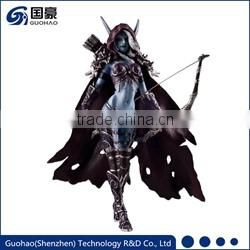 Shenzhen supplier sex woman polyresin anime figurine doll toy custom