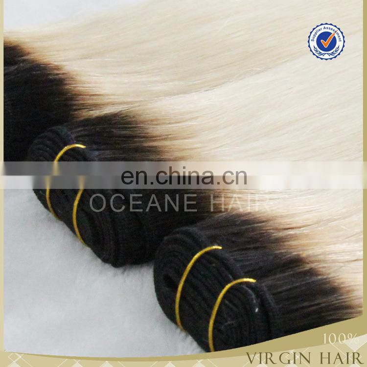 full cuticle colored brazilian hair weave top quality luxury hair mink hair ombre hair
