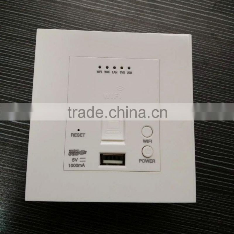 wireless wifi USB wall socket with lan network, USB wall plate faceplate electric socket