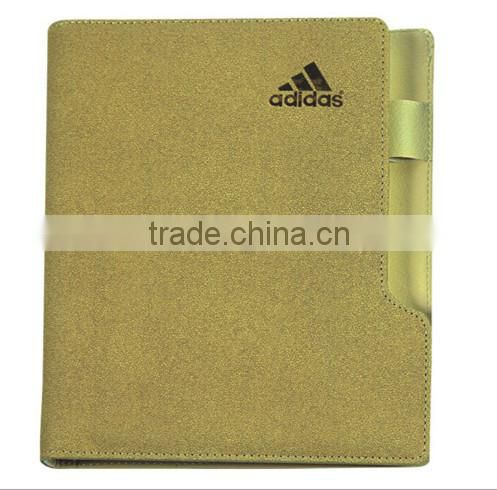Luxry leather note book for business , hotel notepad ,brand notepad
