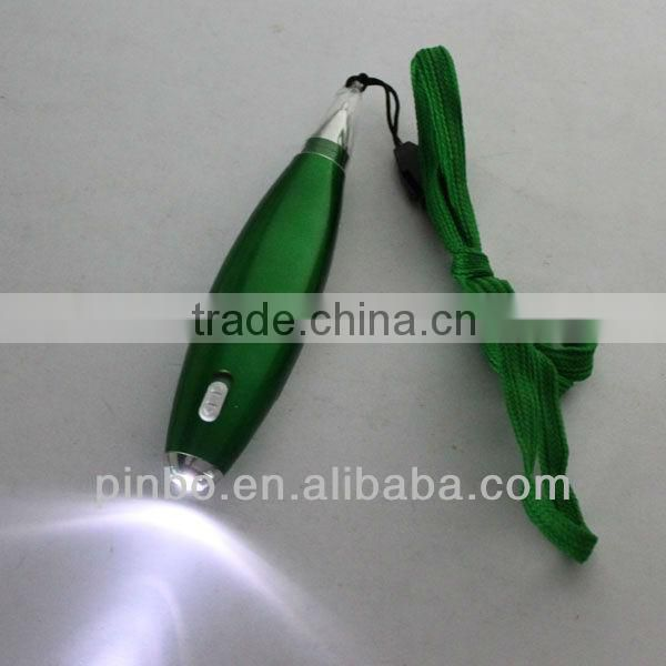 Lighted Led Pen With Lanyard and Memo