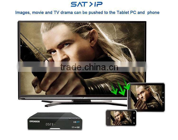 manufacture HD set top box Openbox V8 Pro hd decoder in
