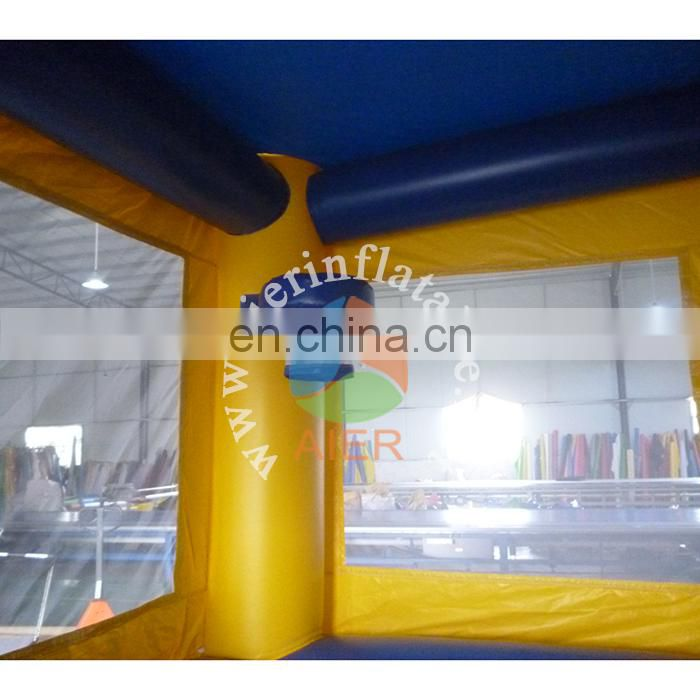 High quality inflatable castle play tent / batman jumping castle blower / happy hop bouncy castle for kids